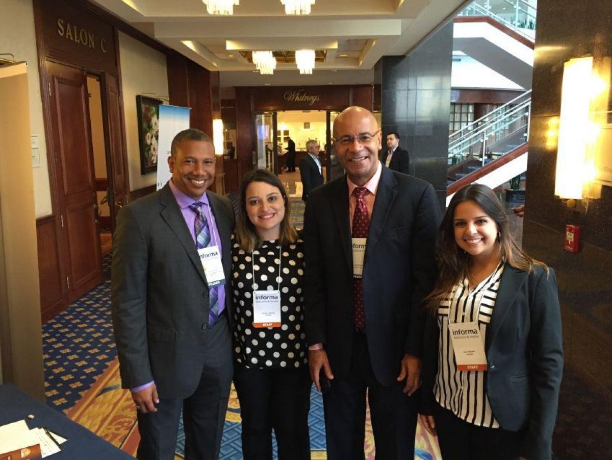 Mr. King (BTP-SXM) Mr. Wilkens (Digicel) Ms. Baros & Ms. Freitas (Informa Group)