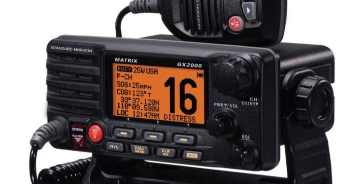 0387-VHF Radio
