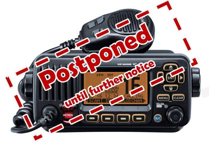 4030-VHF Postponed
